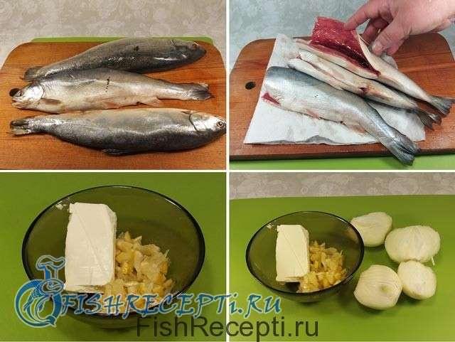 Голец в духовке в фольге, приготовление