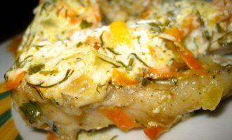 Рыба Аргентина под сметанным соусом